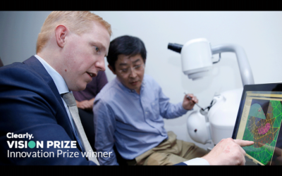 HelpMeSee selected by Clearly Vision Foundation for Innovation Prize