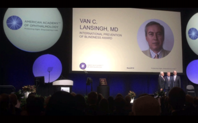 Dr. Lansingh Named Recipient of 2016 International Blindness Prevention Award