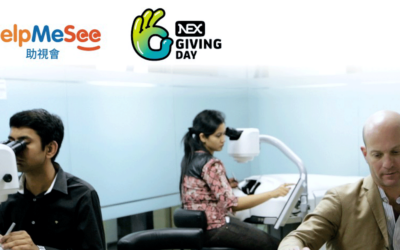 HelpMeSee Receives Donation from NEX Group plc on First NEX Giving Day in Hong Kong region