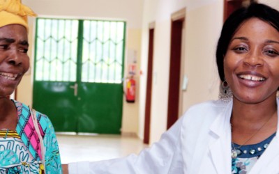 Seeing the World Again: Dr. Danielle Beleho Trains to Restore Vision to the Cataract Blind of Cameroon