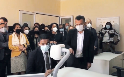 HELPMESEE MADAGASCAR PROJECT LAUNCHES SIMULATION-BASED SURGICAL TRAINING CENTER TO END BACKLOG OF CATARACT BLINDNESS
